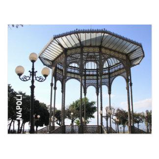 Travel memories: Naples, Italy Postcard