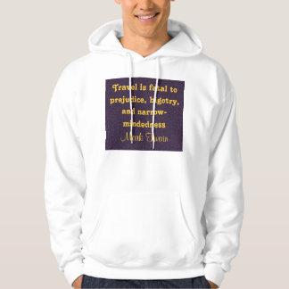 travel mens hoodie