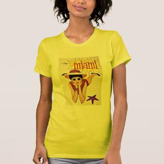 Travel Miami Florida Beach Vintage T-Shirt