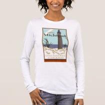 Travel Michigan Long Sleeve T-Shirt