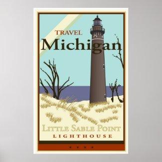 Travel Michigan print