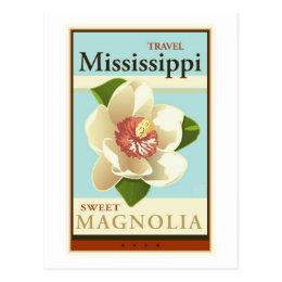 Travel Mississippi Postcard