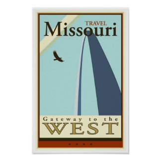 Travel Missouri Poster
