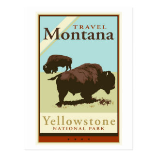 Travel Montana Postcard