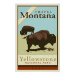 Travel Montana Poster
