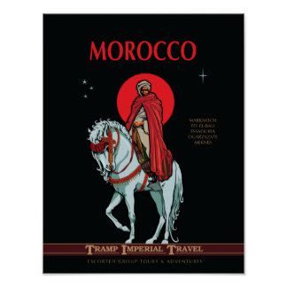 Travel Morocco Poster