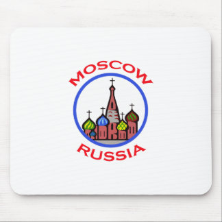 TRAVEL MOSCOW RUSSIA MOUSE PAD