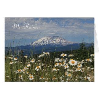 Travel Mt. Rainier Card