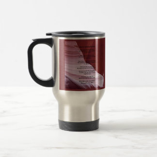 Travel Mug, Apache Wedding Blessing, Sandstone Cyn Travel Mug