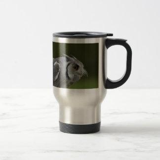 Travel Mug - Baby Grey Owl