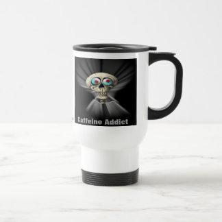 Travel Mug - Caffeine Addict (wired on coffee)