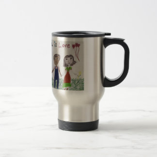 Travel Mug/Cup - Adoption is Love