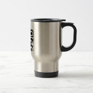 Travel mug (custom text)