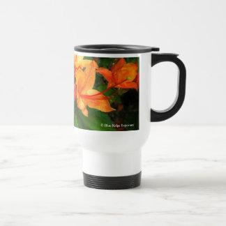 Travel Mug - Flame Azalea