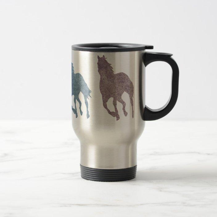Travel Mug For Horse Equestrian