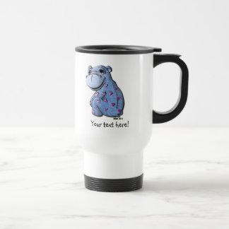 Travel Mug - Haley Hippo
