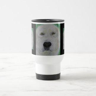Travel Mug, Labrador Retriever Dog Art