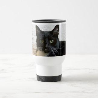 Travel Mug: Lilly the Cat 15 Oz Stainless Steel Travel Mug