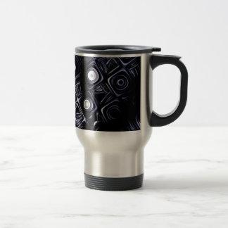 """Travel Mug, """"Mesh"""" Fractal Art Travel Mug"""