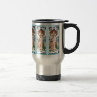 Travel Mug Mucha - Sylvais Perfume Ad