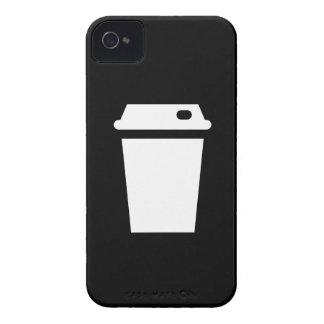 Travel Mug Pictogram iPhone 4 Case