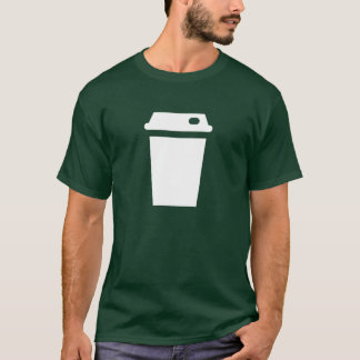 Travel Mug Pictogram T-Shirt