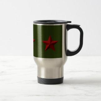 Travel Mug - Red Star
