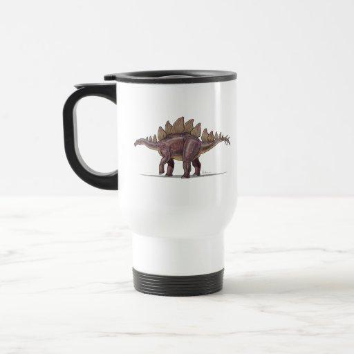 Travel Mug Stegosaurus Dinosaur
