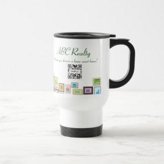 Travel Mug Template ABC Realty