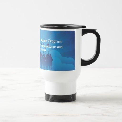Travel Mug Template Online Degree