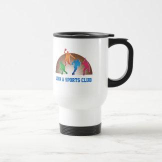 Travel Mug Template School Athletics