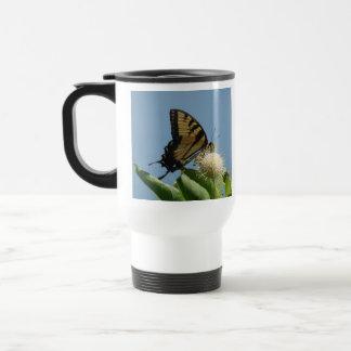 Travel Mug - Tiger on Buttonbush