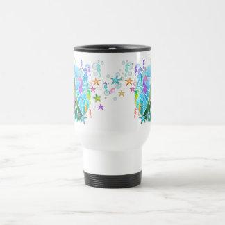 Travel Mug - Under The Sea Pop Art