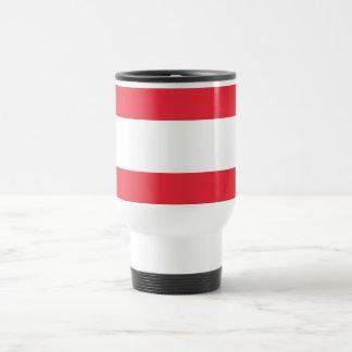 Travel Mug with Flag of Austria