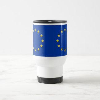 Travel Mug with Flag of European Union