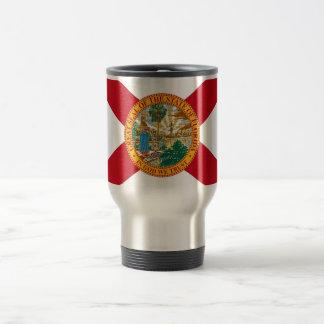 Travel Mug with Flag of Florida State - USA