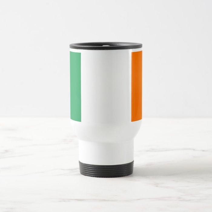 Travel Mug with Flag of Ireland