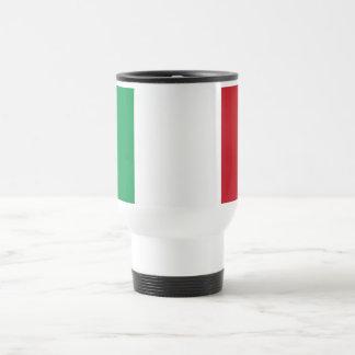 Travel Mug with Flag of Italy