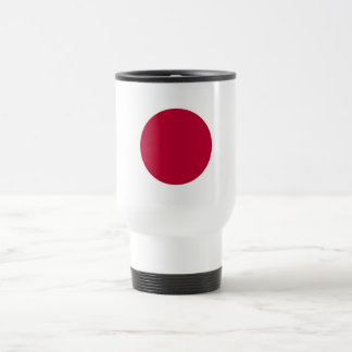 Travel Mug with Flag of Japan