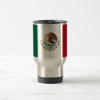 Travel Mug with Flag of Mexico