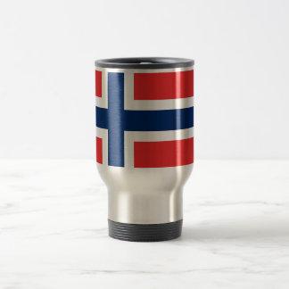 Travel Mug with Flag of Norway