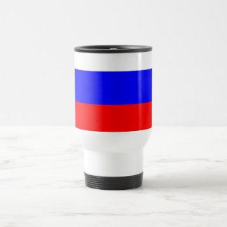 Travel Mug with Flag of Russia