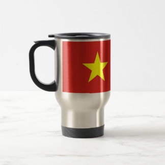 Travel Mug with Flag of Vietnam