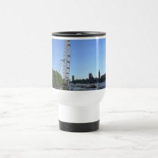 Travel Mug with London Eye Ferris Wheel