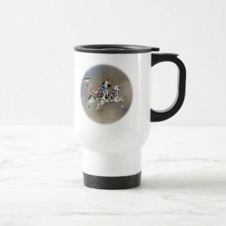 Travel Mugs - Carousel Cats RD
