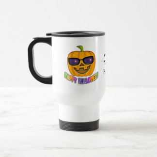 Travel Mugs - Cool JACK O'Lantern