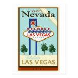 Travel Nevada Postcard
