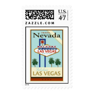 Travel Nevada Stamp