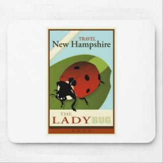Travel New Hampshire Mouse Pad