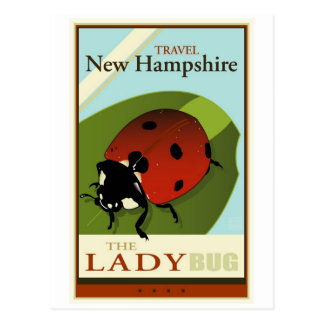 Travel New Hampshire Post Card